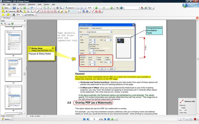 PDF-XChange Viewer SDK Screenshot 1