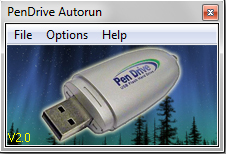 PenDrive Autorun Screenshot