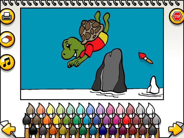 Leah's Animal Coloring Book Screenshot
