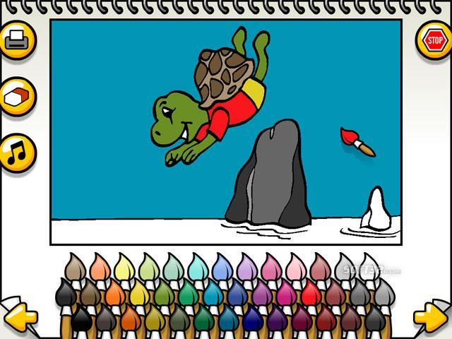 Leah's Animal Coloring Book Screenshot 2