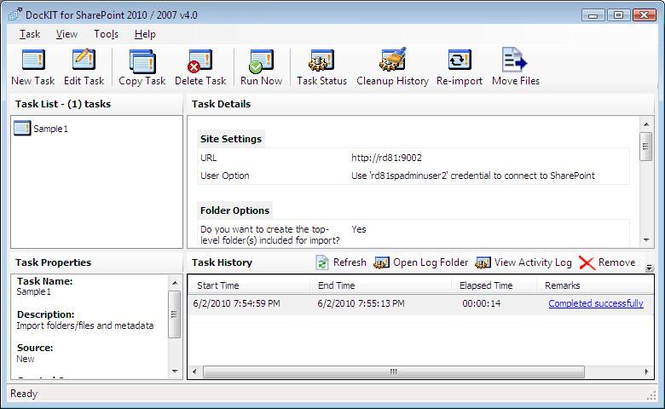 DocKIT for SharePoint 2010 / 2007 Screenshot 1
