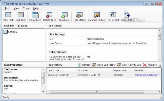 DocKIT for SharePoint 2010 / 2007 Screenshot 2