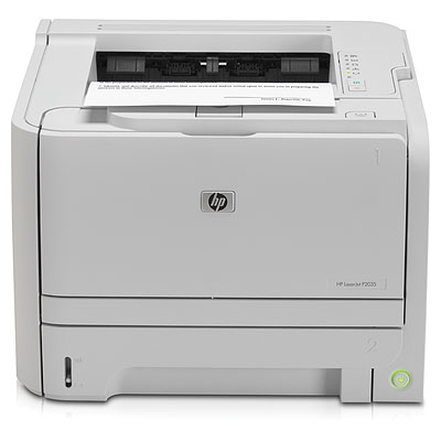 HP P2035 Laser Printer Driver Screenshot