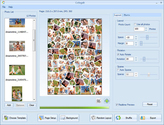 CollageIt Screenshot 1