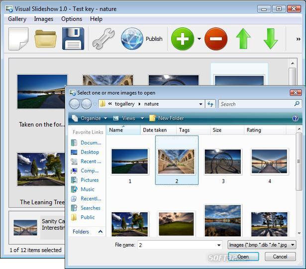 Visual SlideShow Screenshot 2