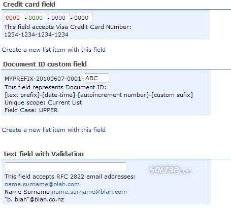 Custom Mask Web Part for SharePoint Screenshot 2