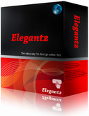 Elegantz Website Builder Screenshot