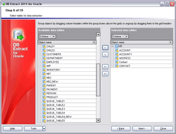 EMS DB Extract for Oracle Screenshot 1