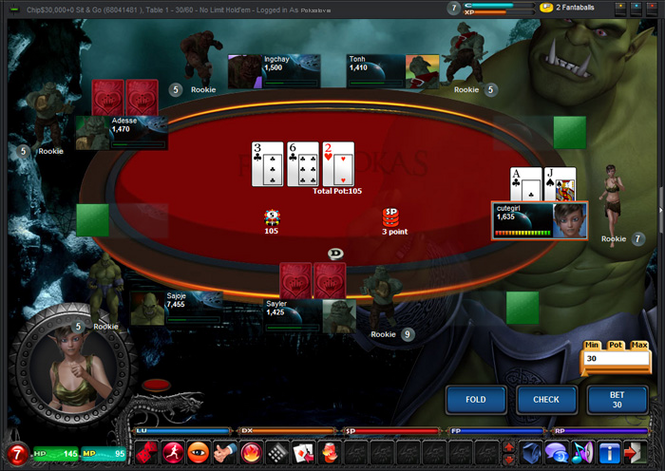 FantaPokas Poker Screenshot 1