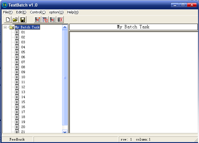 TextBatch Screenshot 1