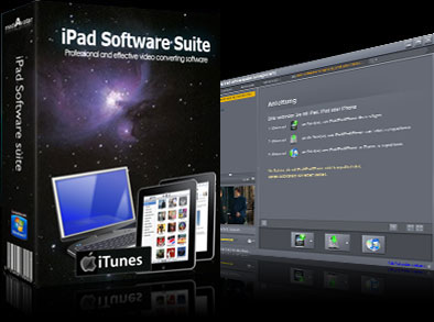 mediAvatar iPad Software Suite Screenshot