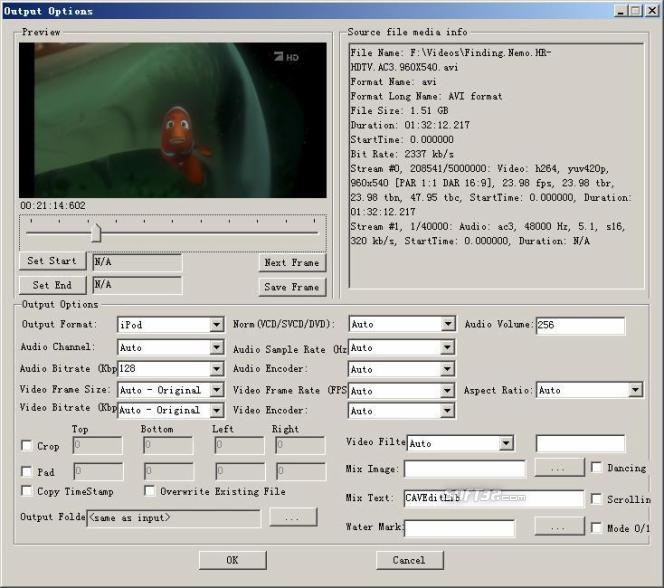 Solid FFmpeg C# .Net Wrapper Screenshot 3