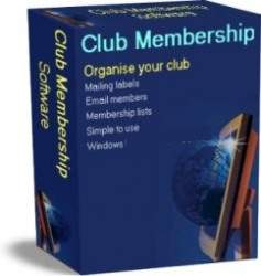 Club Membership Software Screenshot 1