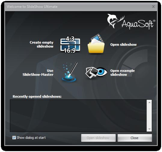 AquaSoft SlideShow Ultimate Screenshot 2