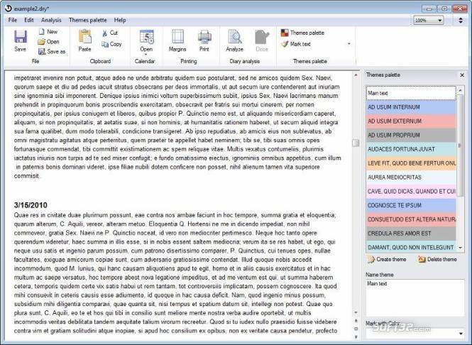 Hi-Tech Diary Screenshot 2