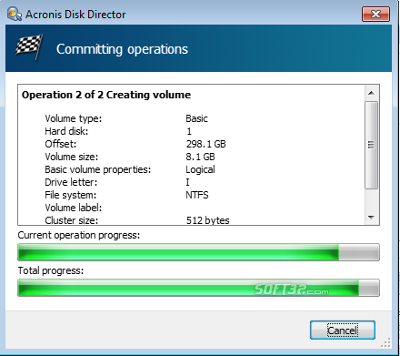 Acronis Disk Director Home Screenshot 6