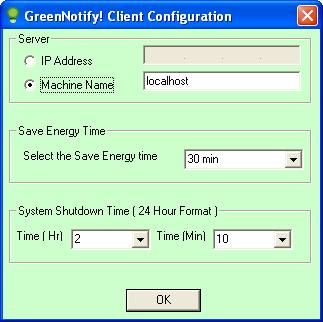 GreenNotify Screenshot