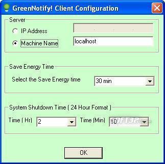 GreenNotify Screenshot 2