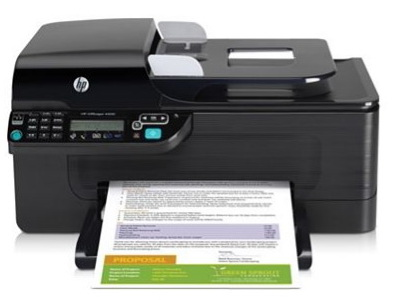 HP 4500 All In One Printer Driver Mac OS Screenshot