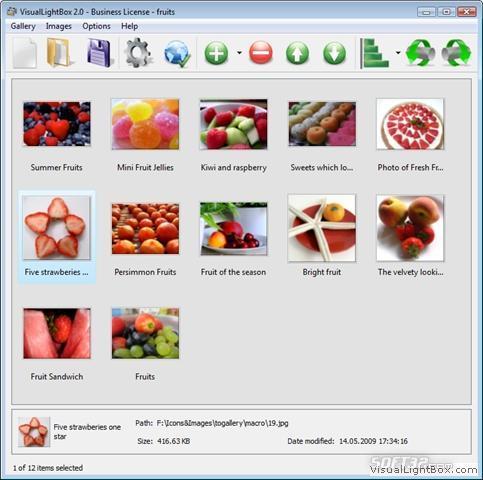 Visual jQuery LightBox Screenshot 2