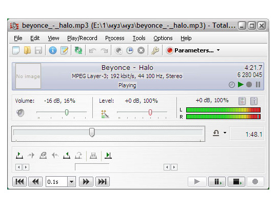 Total Recorder Standard Edition Screenshot