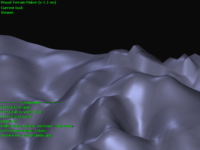 Visual Terrain Maker Screenshot