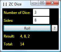 ZC Dice Screenshot 1