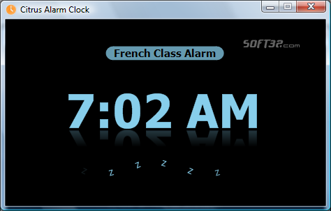 Citrus Alarm Clock Screenshot 2