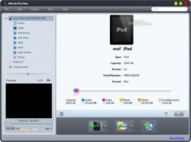 4Media iPad Max Screenshot 2