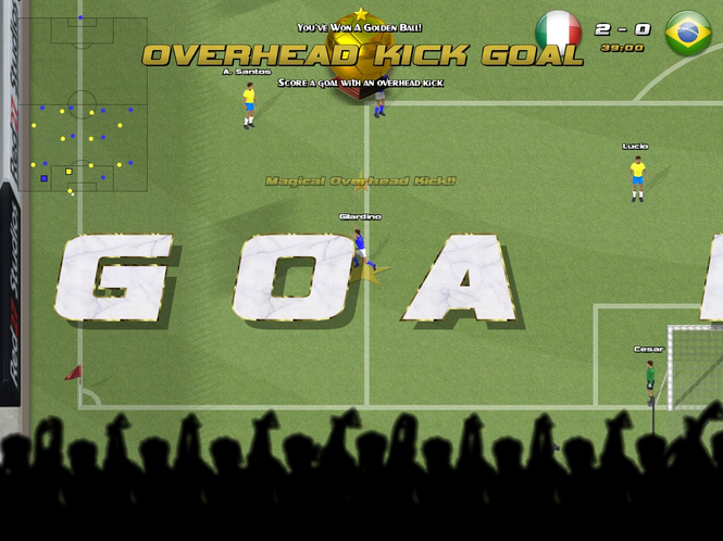 Awesome Soccer World 2010 Screenshot