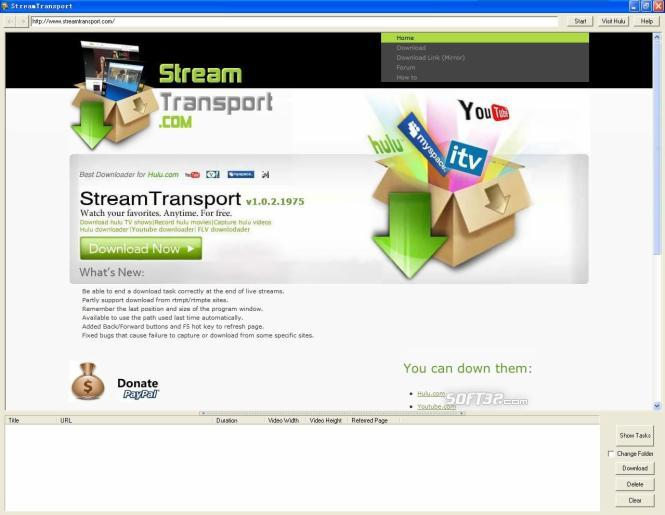 StreamTransport Screenshot 3