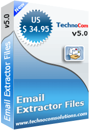 Files Email Extractor Screenshot