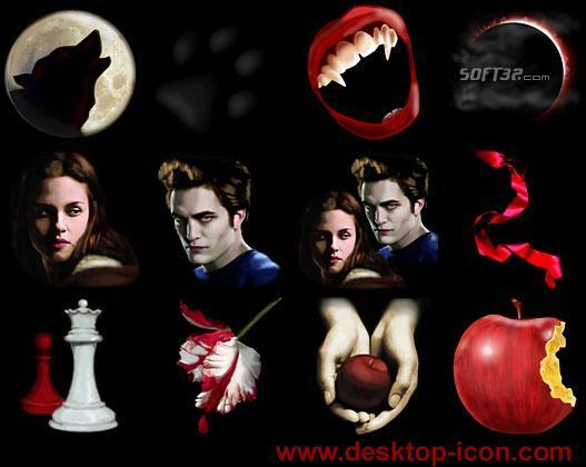 Free Twilight Desktop Icons Screenshot 3