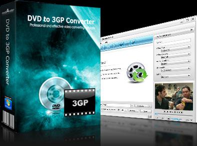 mediAvatar DVD to 3GP Converter Screenshot 1