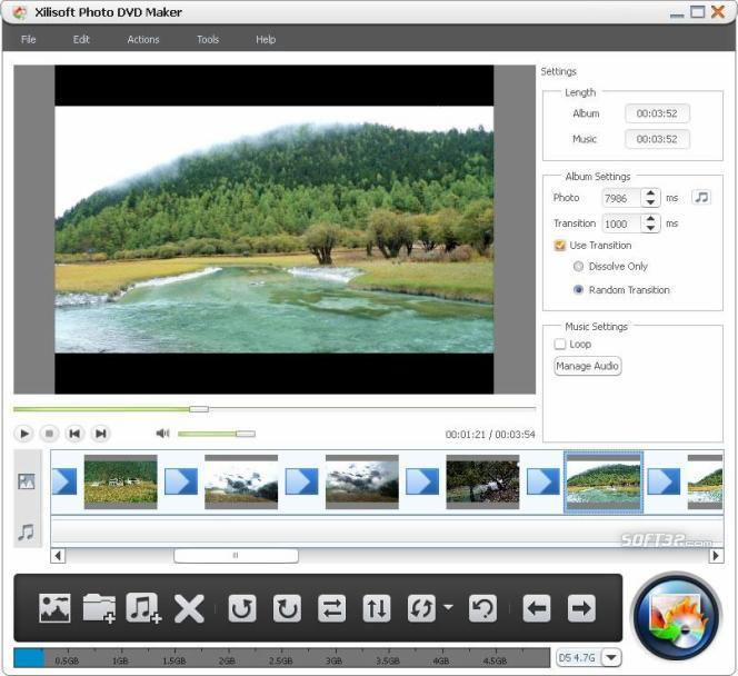 Xilisoft Photo DVD Maker Screenshot 3