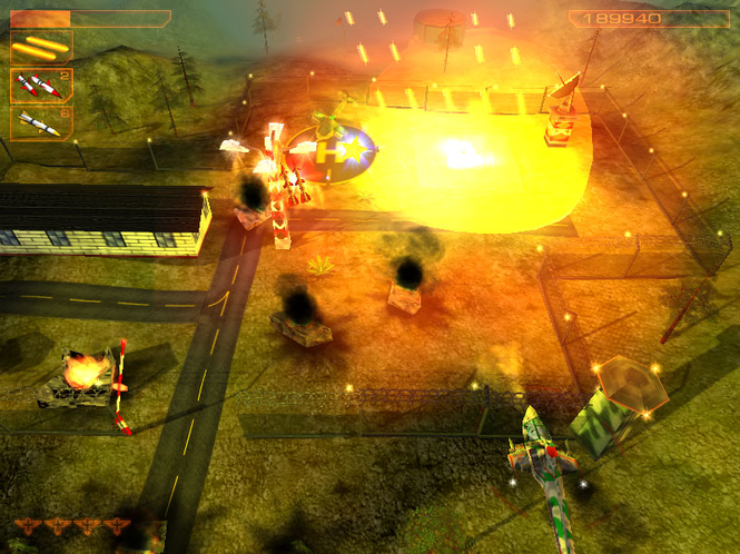 Helicopter Strike 3D Screenshot