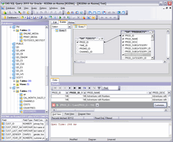 EMS SQL Query for Oracle Screenshot 1