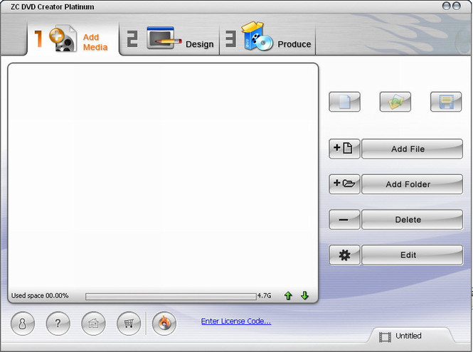 ZC DVD Creator Platinum Screenshot