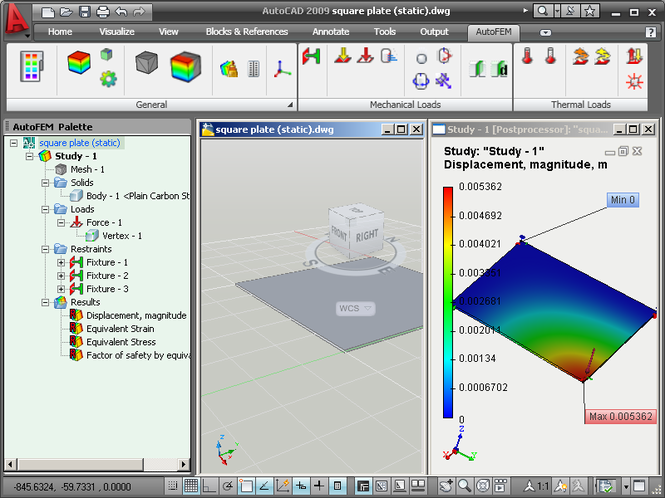 AutoFEM Analysis Lite Screenshot 3