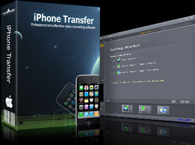 mediAvatar iPhone to Mac Transfer Screenshot