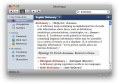 German-English Collins Pro Dictionary for Mac 3
