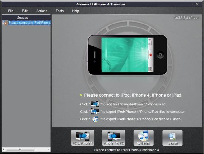 Aiseesoft iPhone 4 Transfer Screenshot 3