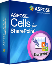 Aspose.Cells for SharePoint Screenshot