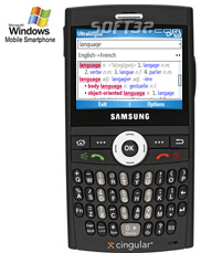 German-English Dictionary by Ultralingua for Windows Mobile Pro Screenshot 2