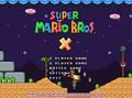 Super Mario Bros X 1