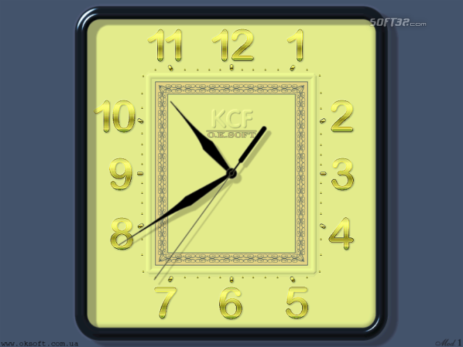 KCF Clock Model 1 Screenshot 2