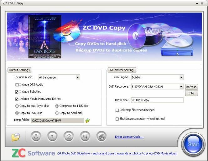 ZC DVD Copy Screenshot 2