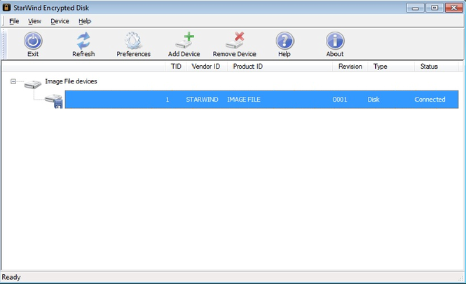 StarWind Virtual CD Screenshot 1