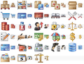 Large Logistics Icons 1
