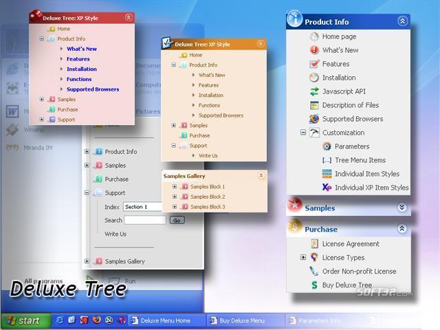 Deluxe Tree Screenshot 3